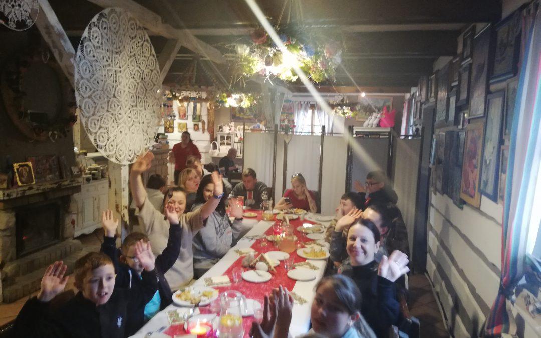 Uroczysty obiad dzięki SIKA POLAND